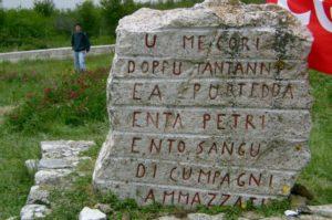 Articolo 21 con Cgil e Rai Sicilia per il 70mo anniversario di Portella della Ginestra