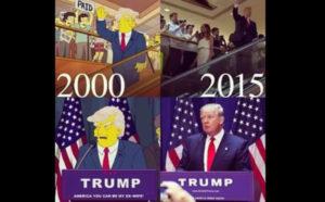 """""""I Simpson"""" e l'America di Trump"""