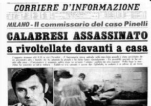 Luigi Calabresi e quei giorni perduti