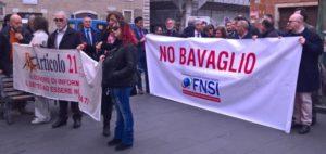 Querele temerarie, minacce e lotta al precariato: 24 maggio, presidio Fnsi in piazza Montecitorio