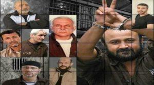 """""""Protesta alla Rai per la congiura del silenzio sullo sciopero della fame di 1800 prigionieri politici palestinesi nelle carceri israeliane"""""""