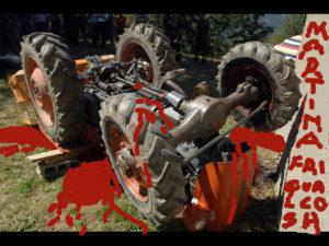 11 agricoltori morti schiacciati dal trattore negli ultimi dieci giorni tre anche ieri. Papa Francesco pensaci tu