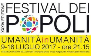 34° edizione del Festival dei Popoli. Rovigo, dal 9 al 16 luglio