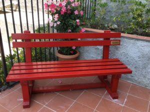 Una panchina rossa per Pierangela Gareffa, vittima di femminicidio