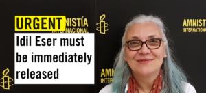 #Freeidileser, appello per la liberazione della direttrice di Amnesty Turchia e gli altri attivisti arrestati ieri