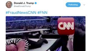 Il cupo umorismo di Trump contro la stampa