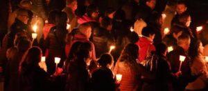 Ore 3.36 Le campane suonano per ricordare le vittime del 24 agosto di un anno fa. Amatrice non dimentica