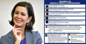La presidente Boldrini denuncia le molestie verbali ricevute. Il linguaggio dell'odio è la nuova forma del manganello mediatico