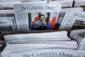 Con la scusa delle tasse, chiuso quotidiano indipendente della Cambogia