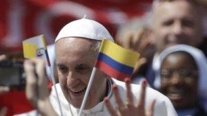 Il Papa in Colombia, Paese di tante crisi