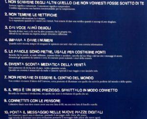 Il Decalogo di Assisi contro i muri mediatici