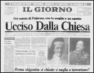 """Il Generale Dalla Chiesa. """"Un simbolo"""" lo ricordava Leonardo Sciascia"""