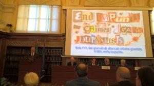 Giornalisti minacciati, la denuncia di Grasso e Borrometi: non c'e più tempo per fermare querele temerarie