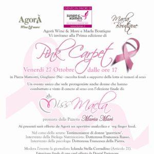 Napoli, nel week end il primo evento Komen contro il cancro