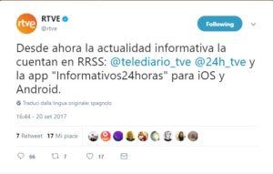 Catalogna, Consejo Informativos RTVE accusa: televisione pubblica spagnola censura tweets su crisi catalana