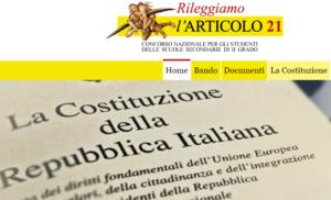 """""""Rileggiamo l'articolo 21 della Costituzione"""".Presentazione del Concorso di Articolo 21 alla Fnsicon la Ministra Fedeli"""