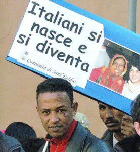 3 ottobre. Giornata Memoria vittime immigrazione.L'Arci davanti alle scuole per chiedere lo ius soli