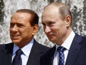 La strana intesa Berlusconi-Putin