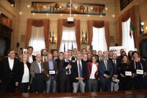 I giornalisti Angeli, Bolzoni e Corradino ricevono il Premio Paolo Borsellino 2017