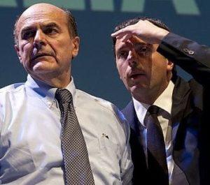 Due nuovi centro-sinistra. Renzi contro Bersani