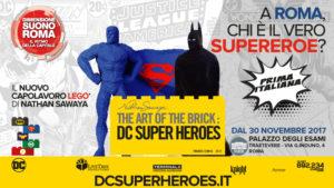I Supereroi LEGO sono sbarcati nella Capitale