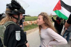 GIORNATE PER AHED. La resistente palestinese