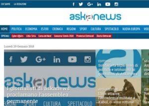 Usigrai: solidarietà ai colleghi di Askanews