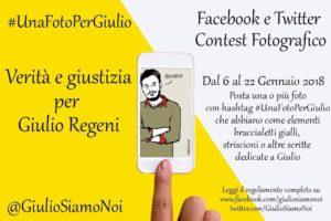 #UnaFotoPerGiulio, parte il  contest lanciato dal collettivo Giulio Siamo Noi. Ecco il regolamento per partecipare