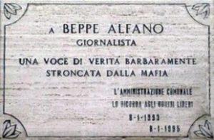 """Beppe Alfano. Un Giornalista """"rompicoglioni"""" per passione"""