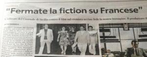 Tv: Articolo21, censurare fiction Francese è inaccettabile