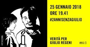 #2annisenzaGiulio: oggi iniziative in decine di città per continuare a chiedere la verità