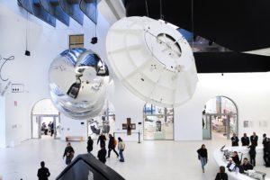 """""""Gravity"""". Al Maxxi di Roma il visitatore interagisce con la nuova concezione dello spazio"""