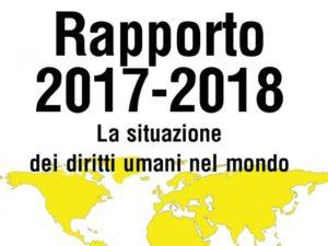 Odio e mobilitazione: il Rapporto 2017-2018 di Amnesty International