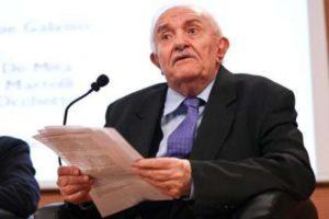 Giuseppe Galasso, uomo politico e storico dall'alto senso di lealtà verso le istituzioni
