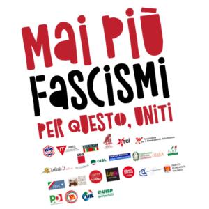 "Fnsi e Cnog aderiscono a ""Mai più fascismi, mai più razzismi"""
