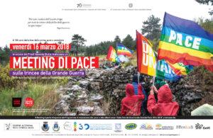 """""""Meeting di pace sulle trincee della Grande Guerra"""". 16 marzo in Friuli Venezia Giulia"""