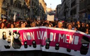 """8 marzo. """"Illuminare ragioni della protesta e mobilitazione delle donne"""""""
