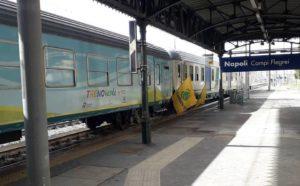 A Napoli il Treno Verde, tra cambiamenti climatici e energie rinnovabili