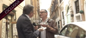 """Giornalista di """"Non è l'Arena"""" preso a schiaffi dall'ex ministro Landolfi, FNSI e Assostampa Puglia: «Inaccettabile, chieda scusa»"""