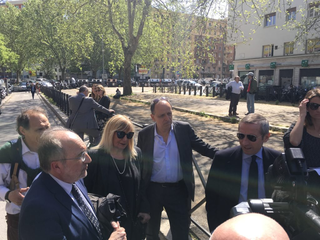 Federica Angeli al processo Spada: