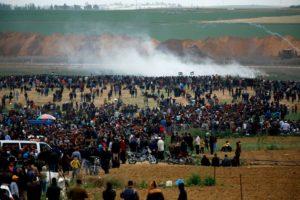 La strage di Pasqua a Gaza