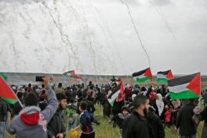 Striscia di Gaza. Forze israeliane ancora violente contro civili che manifestavano pacificamente