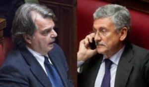Gli strani vignaioli Brunetta e D'Alema