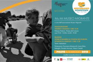 A Prato per la prima volta una mostra e un reading sui bambini migranti. Dal 3 al 6 maggio