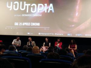 """Giffoni Experience. """"Youtopia"""".Film di scottante attualità per la generazione iperconnessa"""
