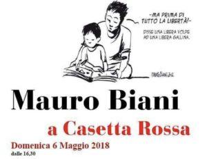 """""""Disegniamo e leggiamo insieme"""", Mauro Biani si racconta a Casetta Rossa"""