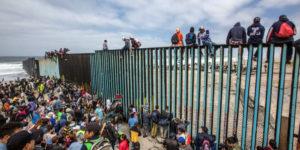 Arriva a Tijuana la Carovana Migrante che tanto spaventava Trump