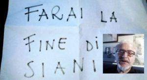 """""""Farai la fine di Siani"""". Il 'pizzino' lasciato al giornalista di Torre Annunziata"""