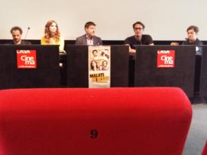 """""""Malati di sesso"""", presentato il film con Francesco Apolloni e Gaia Bermani Amaral"""