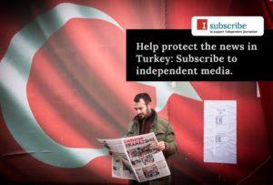 Articolo 21 promotore di 'I subscribe', campagna per sostenere la libertà di stampa in Turchia